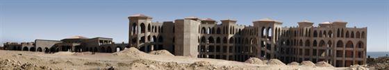 3.Desert-Hotel,2007,-Lambda-print-,-40X232-cm