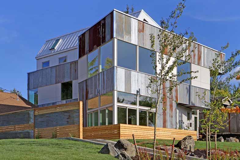 בית חדש אך ממוחזר, בסיאטל