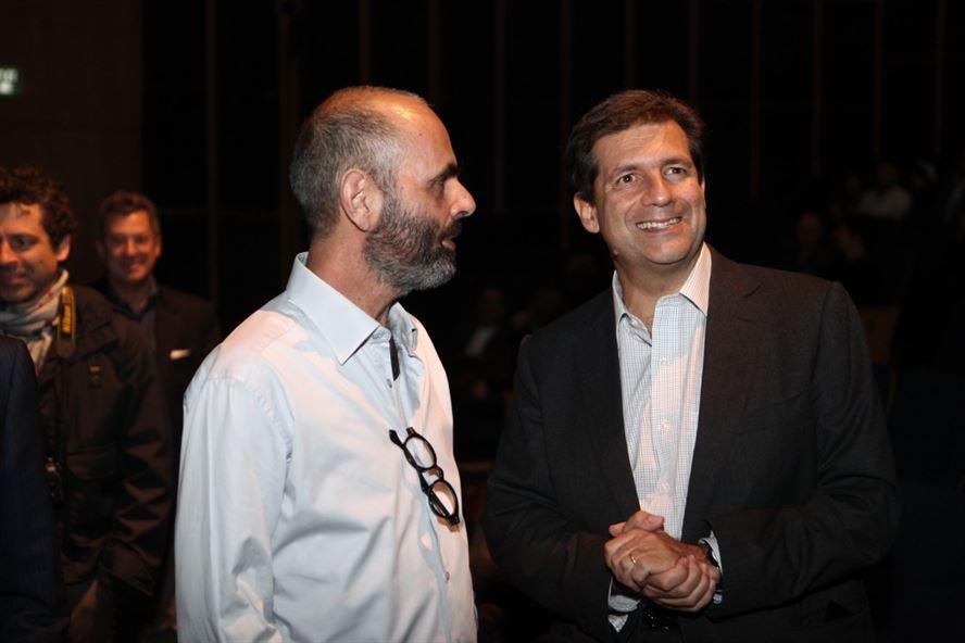 השגריר האיטלקי פרנצ'סקו מריה טאלו, בראש משלחת יצרנים, אנשי תקשורת, כלכלה ותרבות, מגיעים בכדי להכיר את העיצוב הישראלי