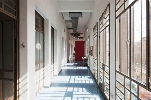 רבי חנינא 18, פנים - רחוב עליון משותף