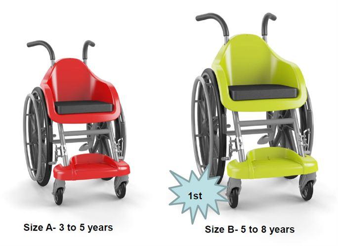 כסא גלגלים בעיצוב ופיתוח של חברת נקודה די.אמ. הישראלית