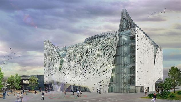 The Italian Pavilion at Expo 2015 in Milan will act as a smog scrubber. Nemesi & Partners