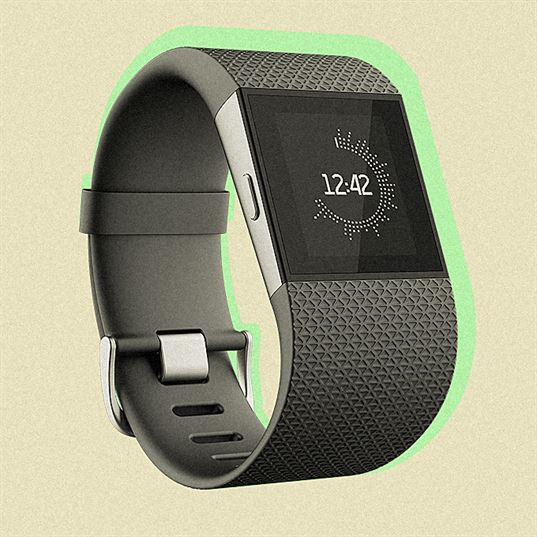 FitBit Surge, designed by FitBit design team and NewDealDesign