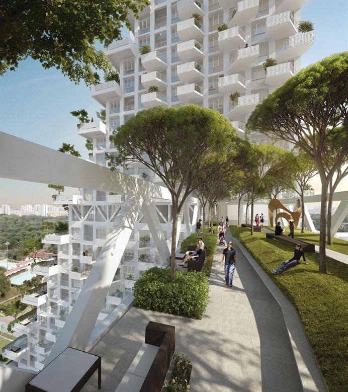 Sky Habitat in Singaporfff