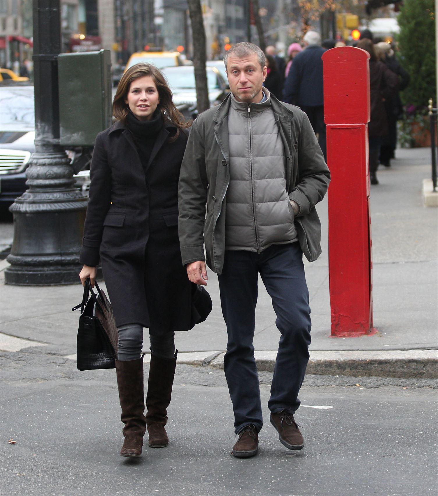 Roman Abramovich and Darya Zhukova