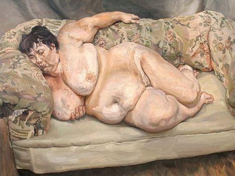 הציור של לוסיאן פרויד שנירכש במחיר שיא