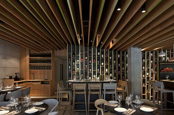 Bindella (Israel), International Restaurant  Pitsou Kedem Architects & Baranowitz-Amit Design Studio