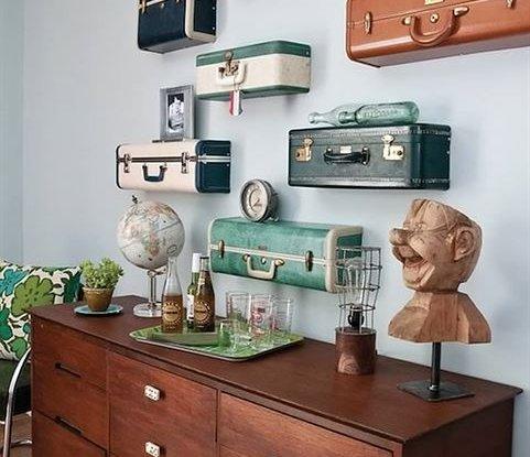 25 דרכים למחזר מזוודות ישנות