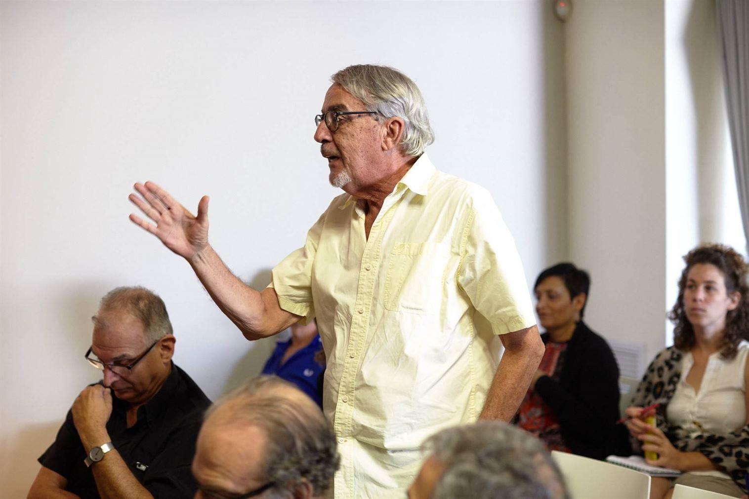 """סרג'יו לרמן, אדריכל העיר ר""""ג לשעבר, משבח את התכנון שעשו מן-שנער לקמפוס שנקר שבעיר"""