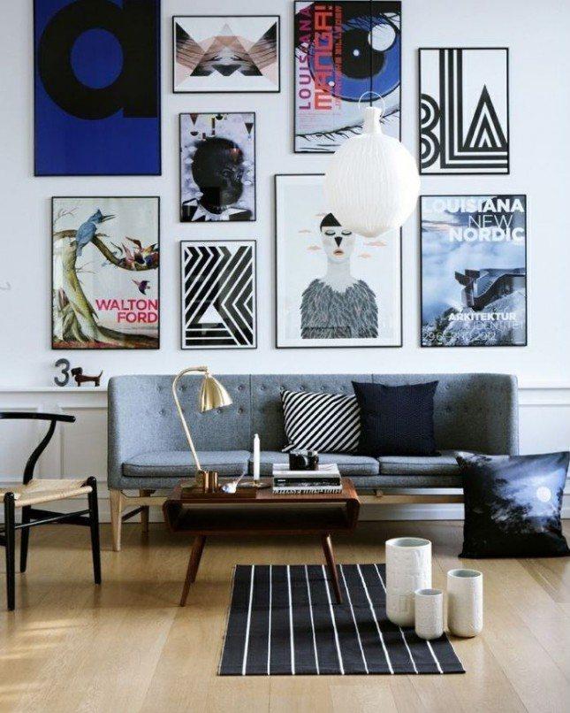 טיפים לעיצוב קיר בתמונות