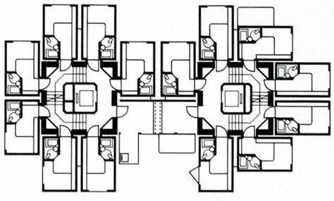 Nakagin-Capsule-Tower-Floorplan