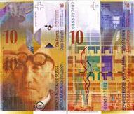 הפרנק השווייצרי עם לה-קורבוזייה