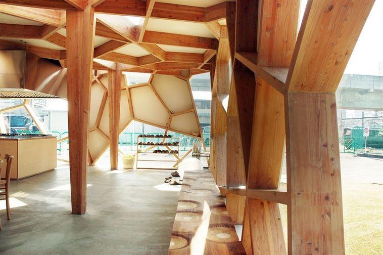 Toyo Ito's Sumika Pavilion