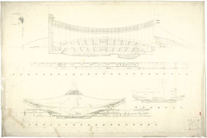 Kenzo Tange, Yoyogi National Indoor Stadiums, (1961-1964)