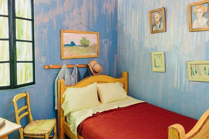 לבלות את הלילה בחדר השינה של ואן גוך, להשכרה ב-Airbnb