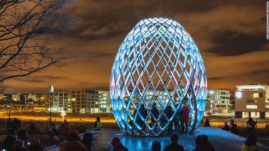 פסטיבל האור LUX בהלסינקי שבפינלנד