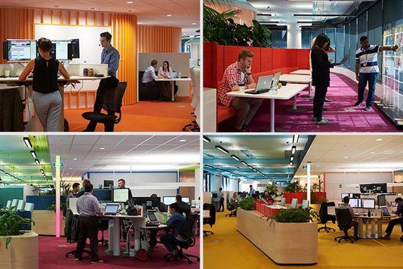 תכנון מקום עבודה בריא לעובדים