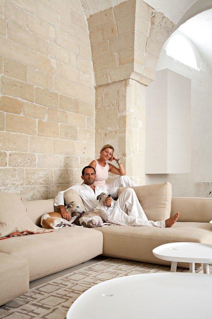 בית של מעצבים איטלקיים ב- Lecce, Puglia