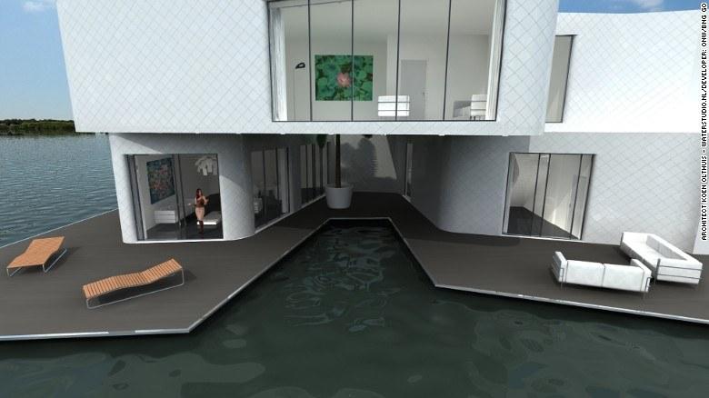 המצודה - פרויקט שאפתני של היזמים ההולנדיים onw / BNG GO, המצודה הוא בית הדירות הצף הראשון של אירופה. זה חלק מפרויקט פיתוח ימי חדש, אשר יכלול שישה בנייני דירות צפים