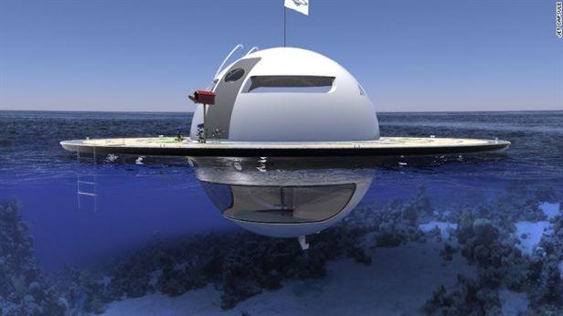 UFO – עם קיום עצמאי, המשלב תכונות חדשניות כמו גנרטור מים שמטהר מי מלח של גשם למים לשתייה. בבית הנייד יש גם פנלים סולאריים וטורבינות מים