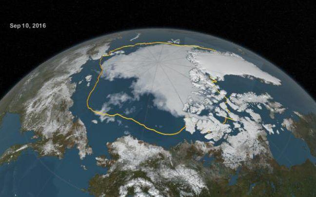"""קנדה חוקרת צליל """"פינג"""" מסתורי, הבוקע מתחתית הים הארקטי"""