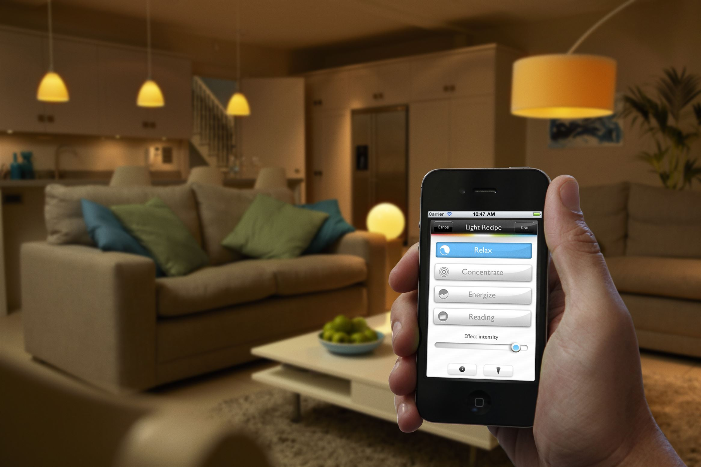 Phillips Hue Smart home lighting
