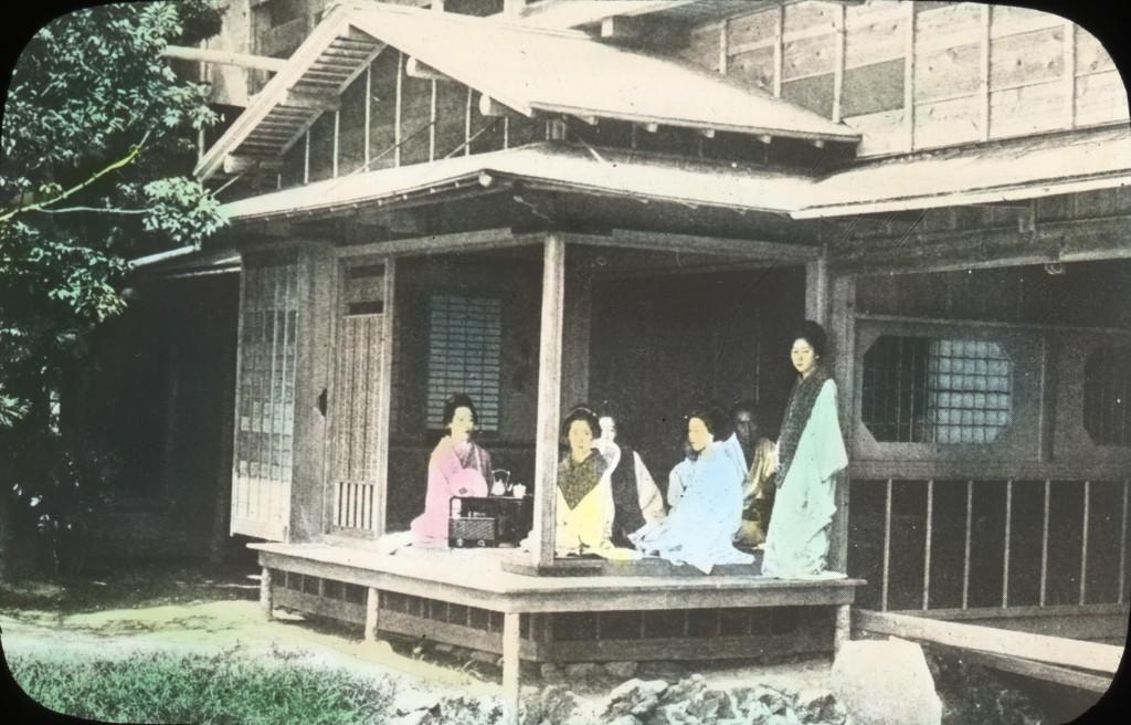 בית התה באדריכלות היפנית