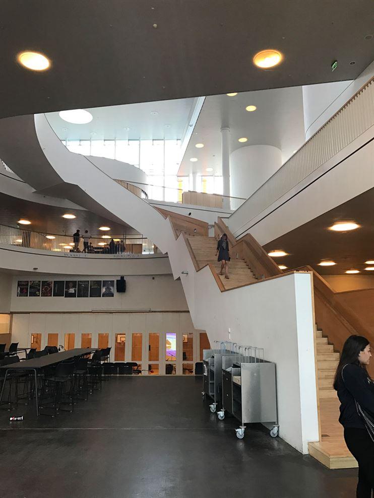 בית ספר רב קומות בקופנהגן. צילום: אדריכל ערן זילברמן