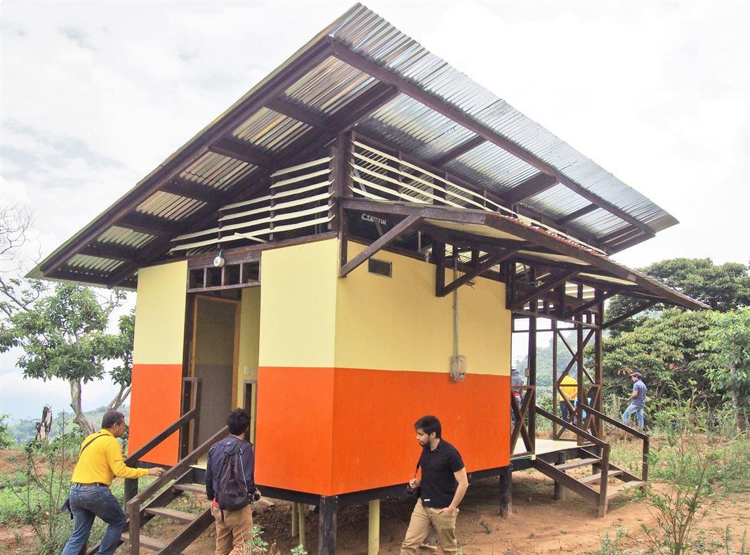 דיור ציבורי לכפרים בקולומביה