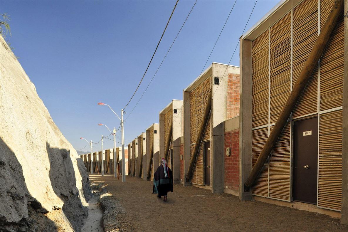 דיור לילידים כפריים בצ'ילה