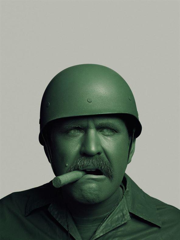 Uniform. A fine art portrait series by John Keatley.