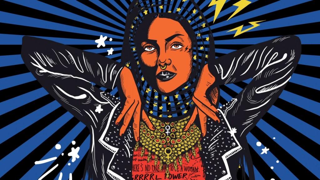 מעצבת פקיסטנית מציתה ויכוחים לוהטים, עם גרפיקה פמיניסטית רבת עוצמה