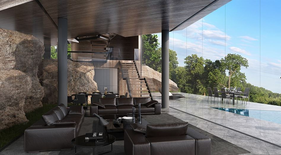 luxury-interior-with-natural-stone-walls