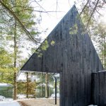 עיצוב בית ביער, נעשה בהשראת היער