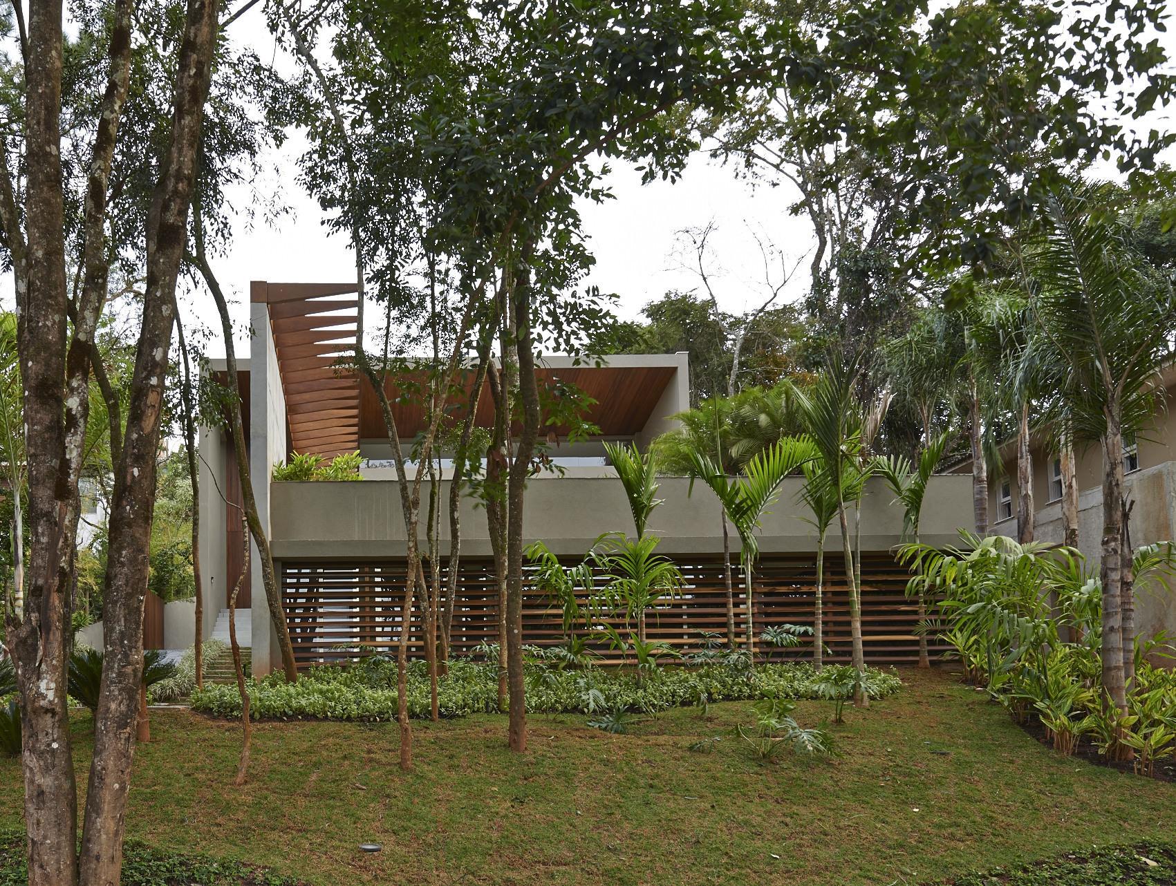 בית בתוך שמורת טבע, ברזיל