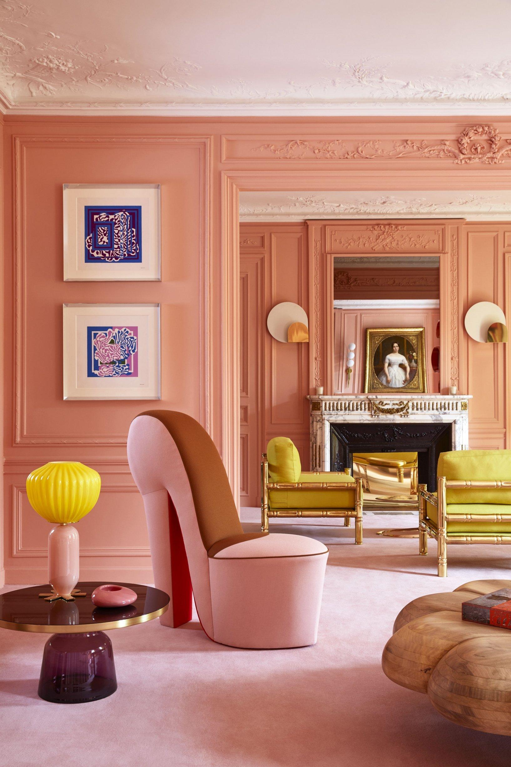 דירה פריזאית של מעצבת חובבת אופנה
