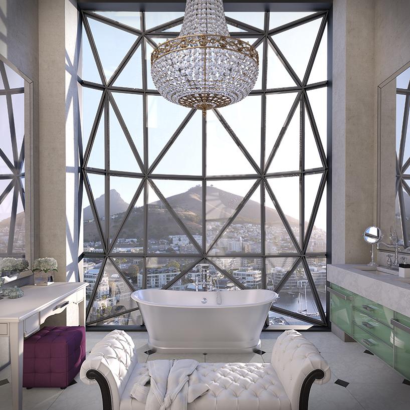 מלון בתוך סילו, דרום אפריקה