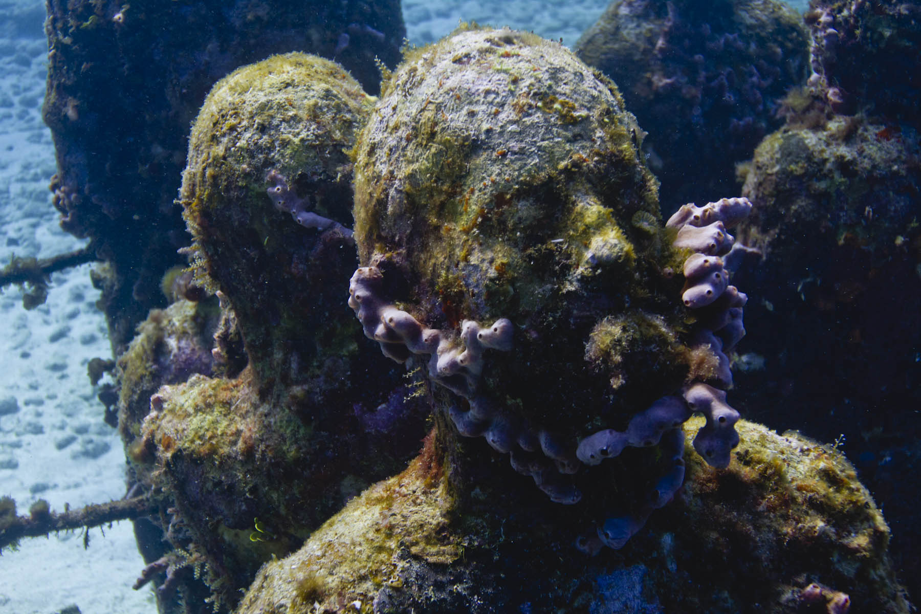 Jason-DeCaires-Taylor-Silent-evolution-underwater-sculpture