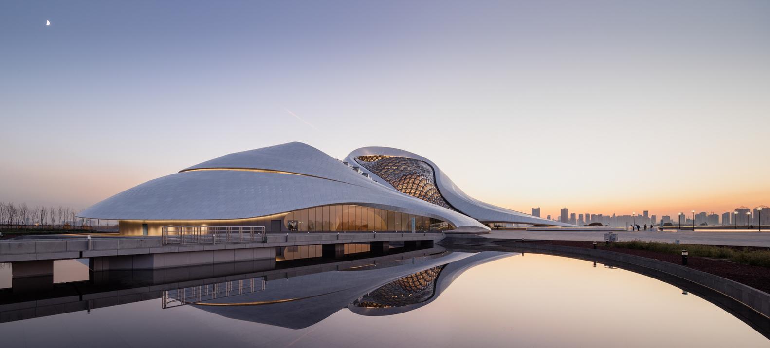 ארכיטקטורה שנמסה לתוך הסביבה