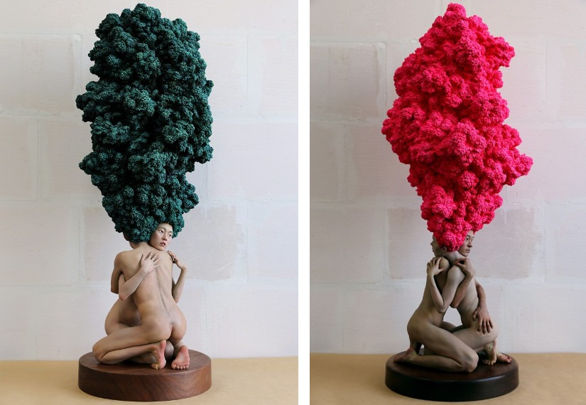 Xooang-Choi-Dreamers-Girl-2008-Left-Dreamers-Pink-2015-Right-photo-credits-ChoiLager