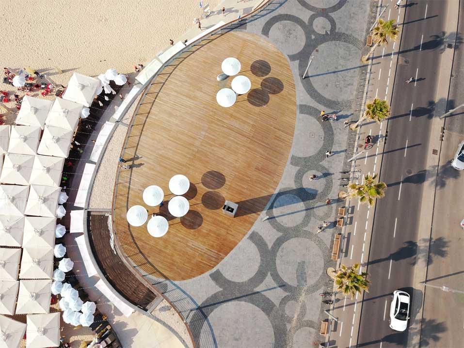 התחדשות טיילת תל-אביב. מייזליץ כסיף אדריכלים