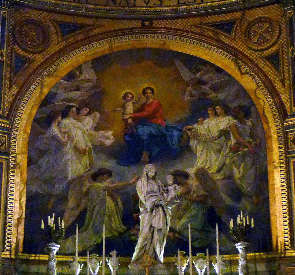 P1260866_Paris_Ier_St-Eustache_chapelle_vierge_fresque_centrale_rwk