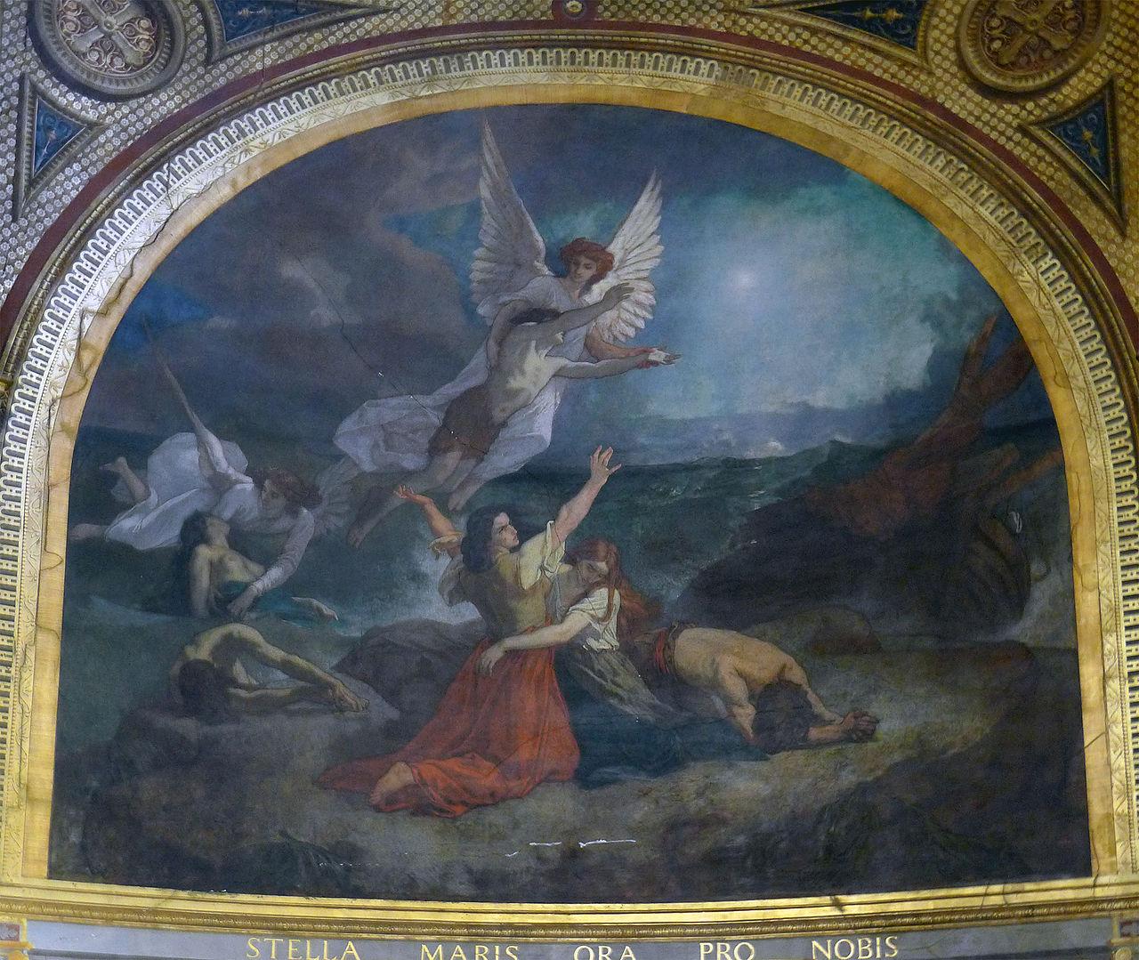 P1260867_Paris_Ier_St-Eustache_chapelle_vierge_fresque_rwk