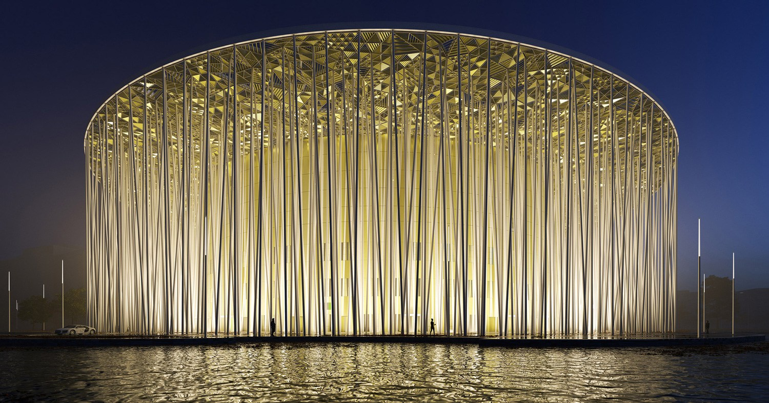 Wuxi-Taihu-Show-Bamboo-Theatre-China-by-Steven-Chilton-Architects-Yellowtrace-11