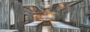 עיצוב מסעדה בצבעי מים