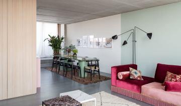 ברלין / דירה של ארכיטקטית