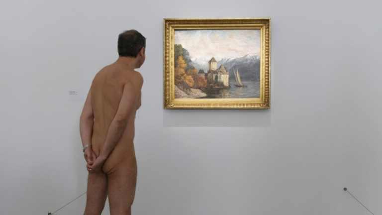 גלריה לנודיסטים: מוזיאון פריזאי מאפשר למבקרים לבקר בו עירומים