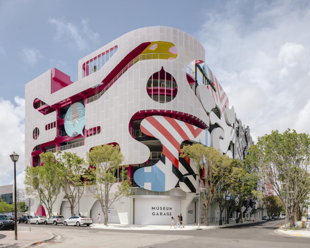 המבנה במיאמי: חניון או מוזיאון?