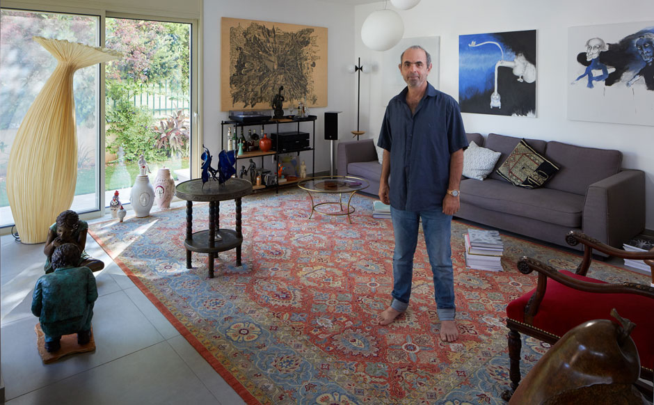 """גיורא אוריין: """"אני בוחר אמנות שמבקרי האמנות לא מכירים"""""""