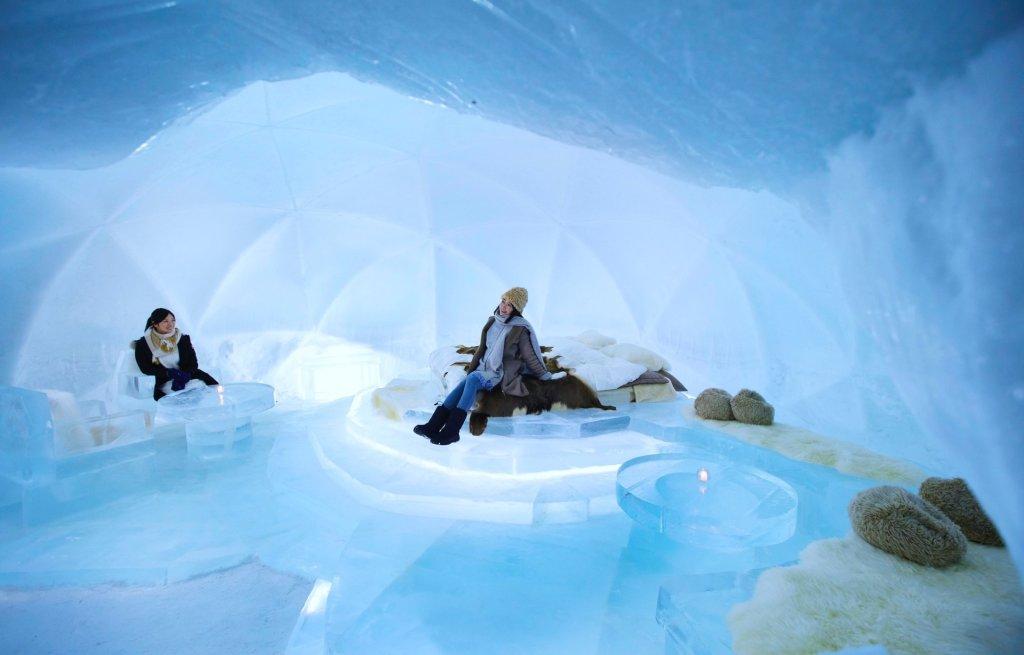 ביפן יש מלון העשוי כולו מקרח